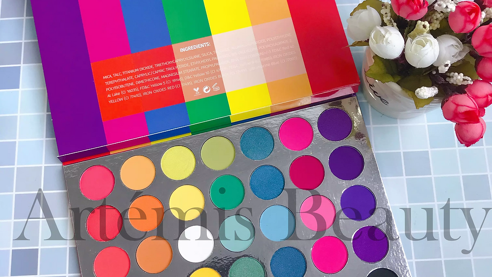 Love with PRIDE palette