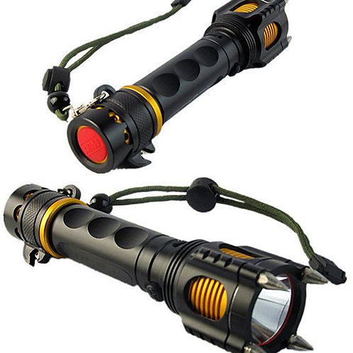 Powerful Self Defense 900 lumens Led Tactical Flashlight