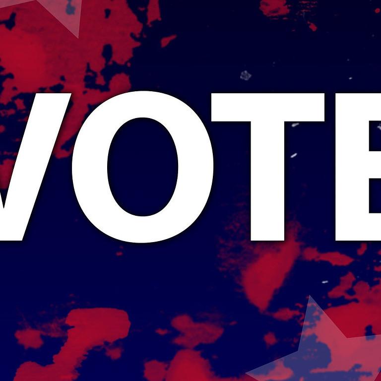 ELECTION DAY- GO VOTE