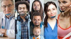 Leaf World's first UV powered transparent mask Indiegogo facemask