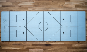 Alignment guides for Levigato Fitness mats