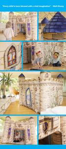 Indoor Kingdoms, Inflatable Playhouses, playhouse, kids toy, experience the magic, Walt Disney