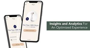 The Cordless AER Dryer Kickstarter hairdryer App