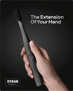 PomaBrush, Kickstarter, Toothbrush, Silicone Electric Toothbrush,  minimalist toothbrush, the extension of your hand,