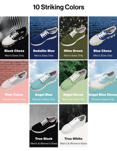 GreenPlax The World's first Shoes Made with Ocean Plastics Kickstarter Colors