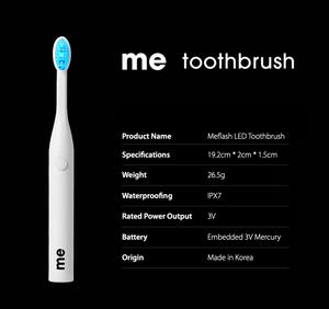E:FLASH, Kickstarter, LED Whitening Toothbrush, specification