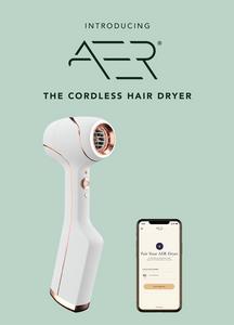 The Cordless AER Dryer Kickstarter hairdryer