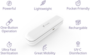 Fuhai: A Foldable, Rechargeable UV Handheld Sanitizer Wand