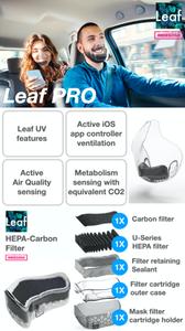 Leaf PRO World's first UV powered transparent mask Indiegogo facemask