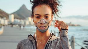 LEAF Mask, Inidegogo, Smart Mask, Face Mask, Transparent Mask,  FDA Registered,