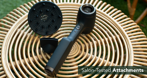 The Cordless AER Dryer Kickstarter hairdryer attachments