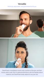 CleanFreak, Kickstarter, toothbrush, automatic toothbrush, teeth protection,