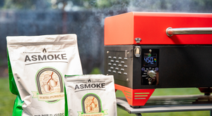 ASMOKE Portable Applewood Pellet Grill Indiegogo grill BBQ