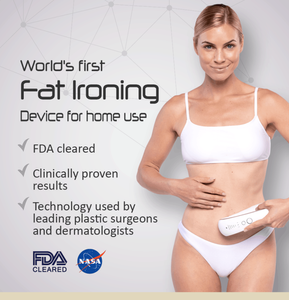 Fat Iron Kickstarter Stubborn fat stretch marks body toning wrinkles saggy skin fat burner Fat solution