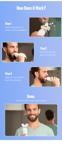 CleanFreak, Kickstarter, toothbrush, automatic toothbrush, teeth protection,  How does it work,