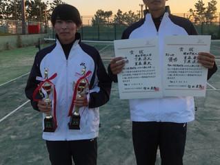 令和二年度関西学生ソフトテニス新人大会結果報告〈男子〉