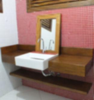 Lavabo em Madeira maciça para Banheiro