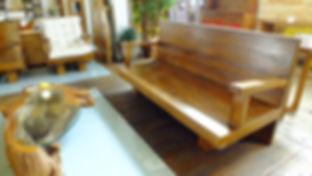 Sofá de Madeira de demolição Rustica