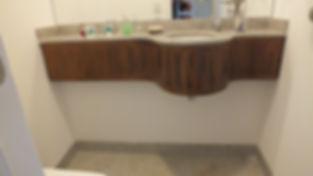 Lavabo Banheiro Rústico