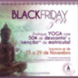 Descontos na Black Friday no Mukti Yoga Shala