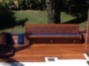 Sofá e Deck de Cumarú