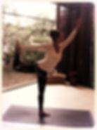 natarajasana, cristina di dario, mukti yoga shala