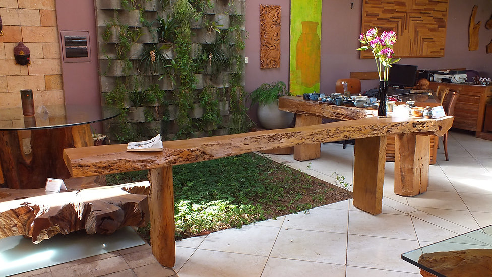 Ambiente com plantas para locação