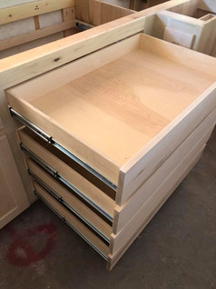 Custom Drawers for Pots and Pans