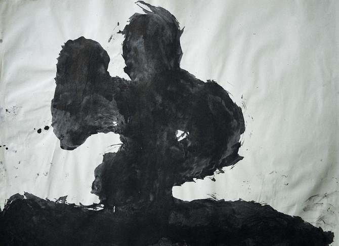 Shiretoko / Sumi on paper,2019 788×1091mm