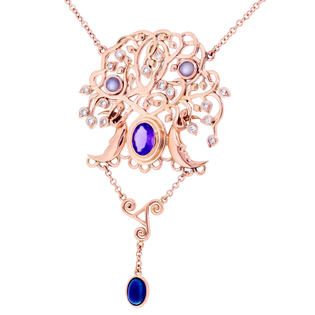 Tree of life style pendant