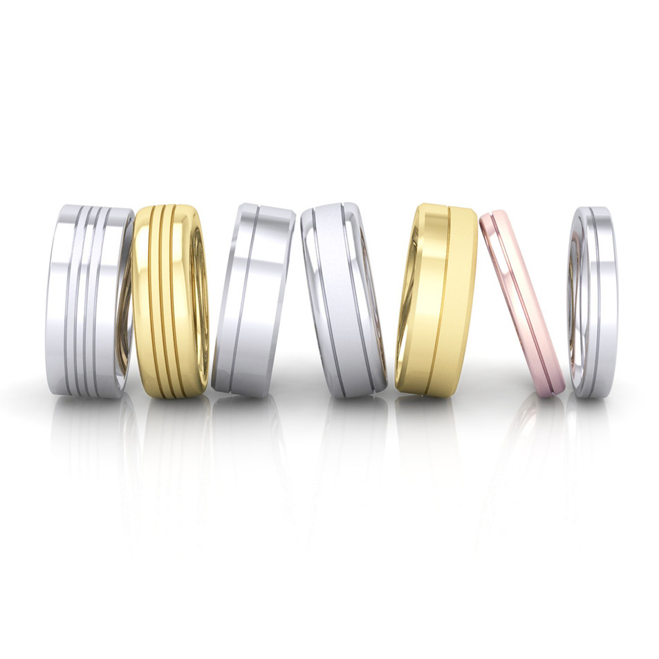 GROOVED BANDS