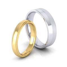 DIAMOND MILLED BANDS