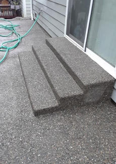 Steps (Exposed Finish)