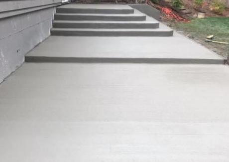 Steps (Broom Finish)