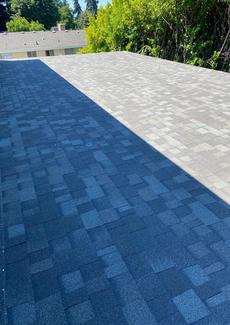 Patio roof