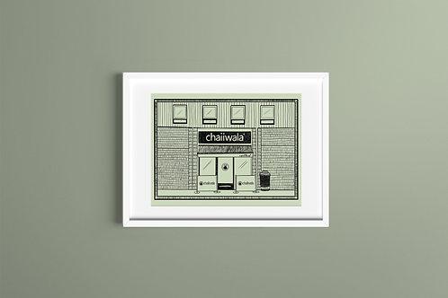 A3 Art Print - Chaiiwala
