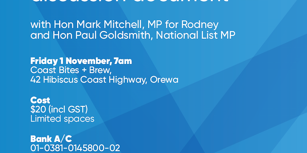 Business Forum Breakfast with Mark Mitchell MP