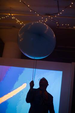 Challenger balloon dance