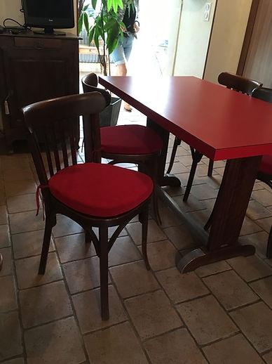 Galette de chaise Bistrot