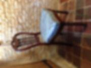 Chaise d'Apparat Néo Louis XIII