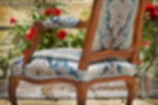 accotoir de fauteuil