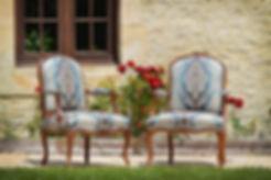 fauteuil louis XV d'époque