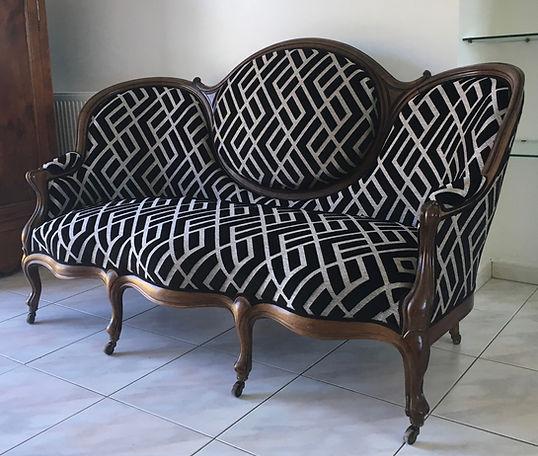 Canapé palissandre