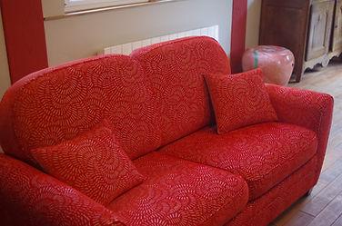 Canapé sur mesure calvados