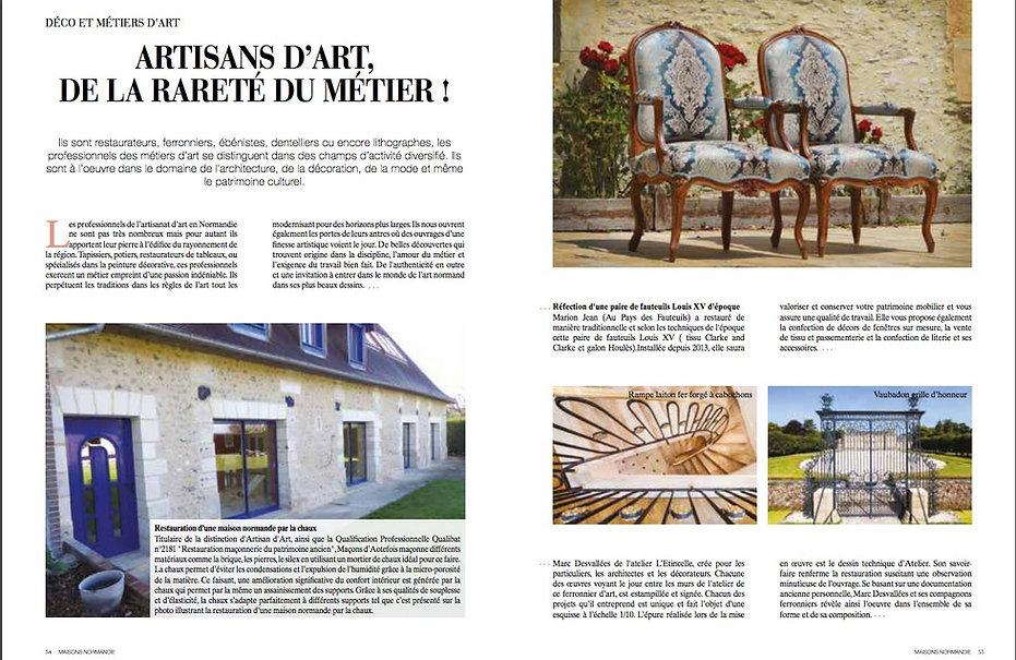 maison normandie magazine