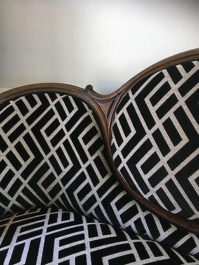 tissu losange noir jpg
