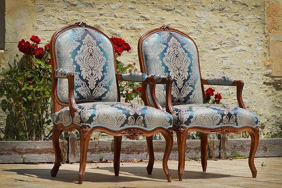 paire de fauteuils XVIIIème siècle