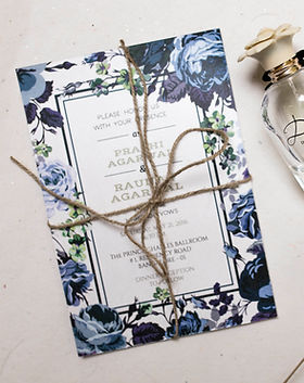 rustic wedding invitation bangalore