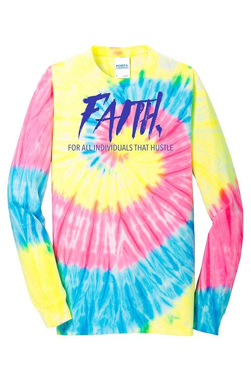 FAITH. Tye Dye Long Sleeve