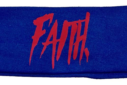 FAITH. Headband Blue - Red
